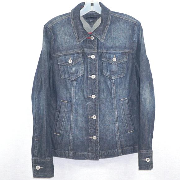 Tommy Hilfiger Jackets & Blazers - Tommy Hilfiger denim jean jacket like new L